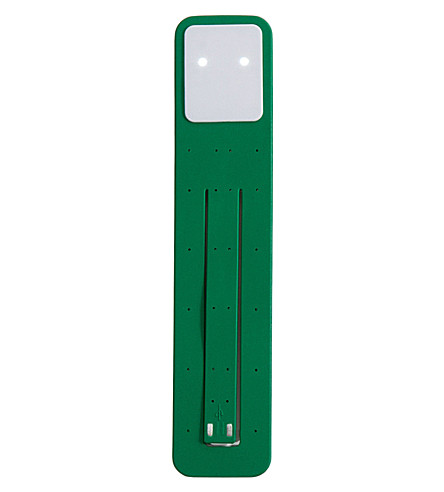 MOLESKINE Oxide green booklight