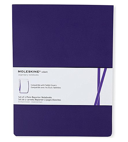 MOLESKINE Set of two plain refill notebooks