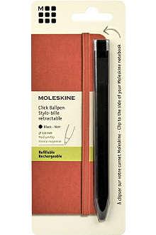 MOLESKINE Classic large-tip click pen 1.0