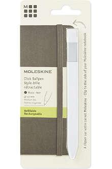 MOLESKINE Classic white click pen