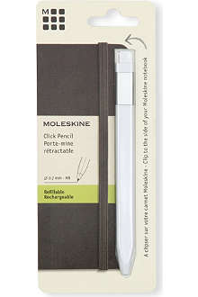 MOLESKINE Classic white medium tip click pencil 0.7