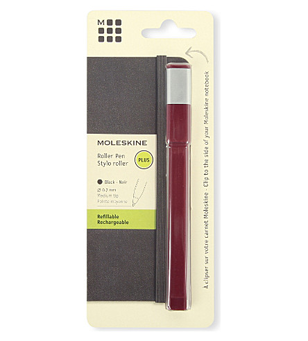 MOLESKINE Roller pen 0.7 burgundy red plus