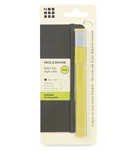 MOLESKINE 滚筒笔 0.7 干草黄色加上