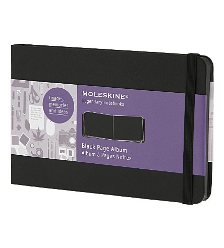 MOLESKINE Pocket black page album