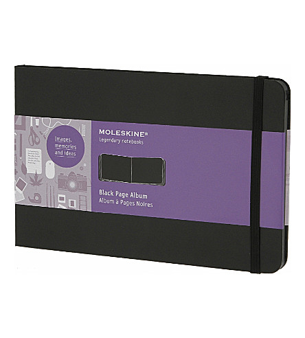 MOLESKINE Large black page album