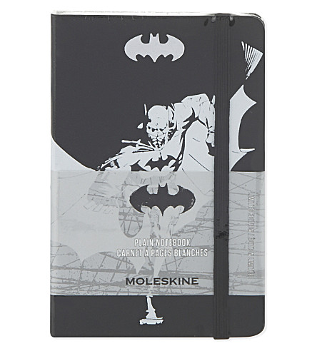 MOLESKINE Batman plain notebook