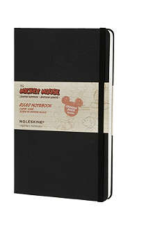 MOLESKINE Large limited edition Mickey Mouse ruled hard notebook