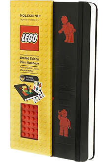 MOLESKINE Limited Edition LEGO large plain notebook