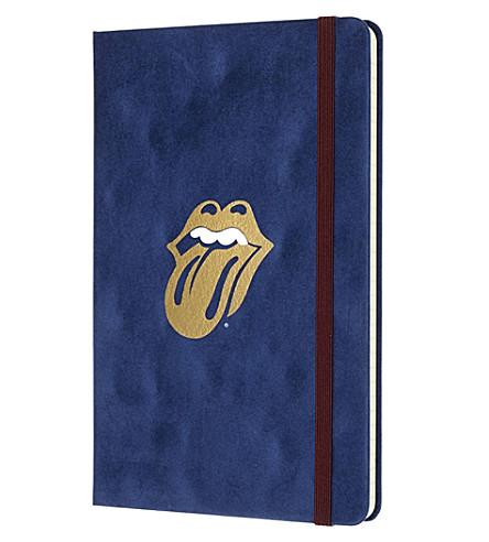 MOLESKINE Rolling Stones velvet notebook