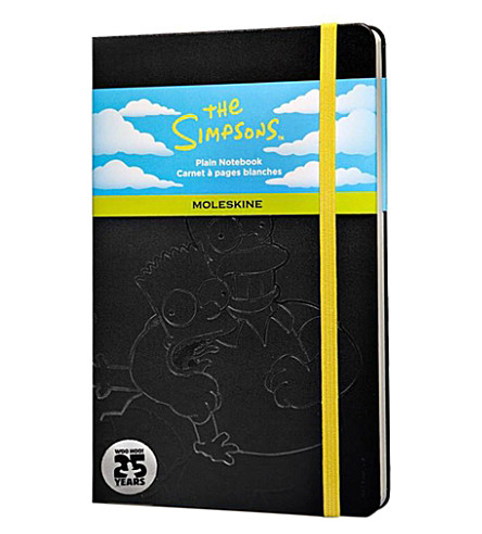 MOLESKINE The Simpsons Large Plain hard notebook