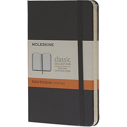 MOLESKINE Small ruled notebook (Black