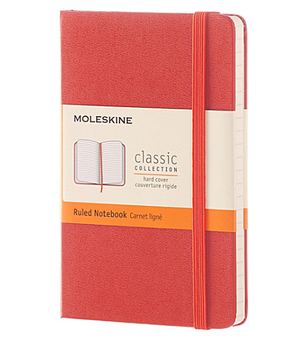 MOLESKINE Hardcover ruled pocket notebook