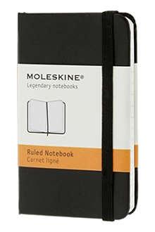 MOLESKINE Extra small ruled hard notebook