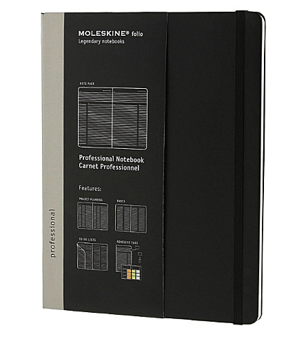 MOLESKINE Extra-large Professional Notebook