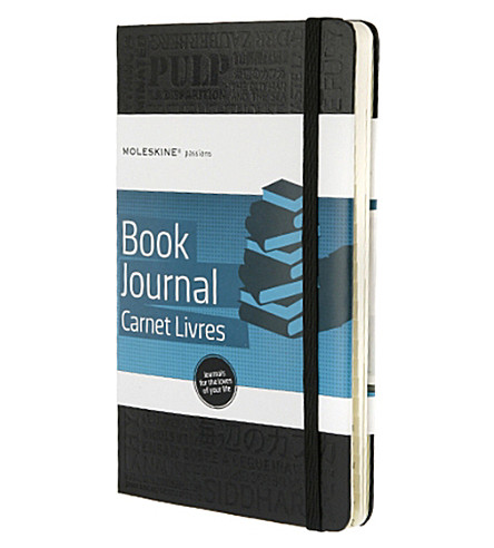 MOLESKINE Passions collection A5 book journal (Black