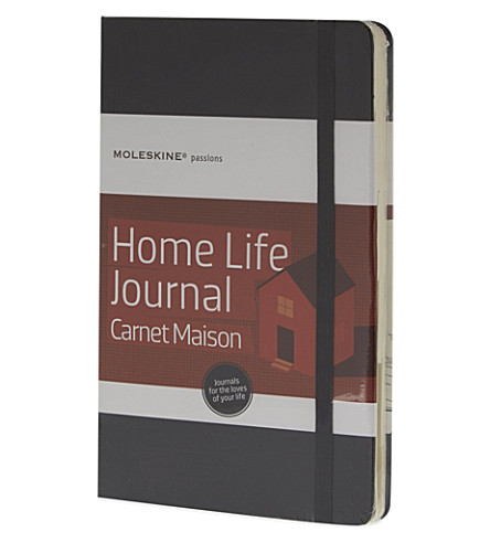 MOLESKINE Passions collection A5 home life journal
