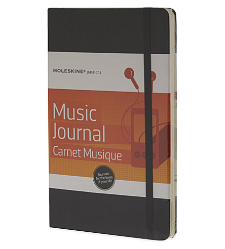 MOLESKINE Passions collection A5 music journal