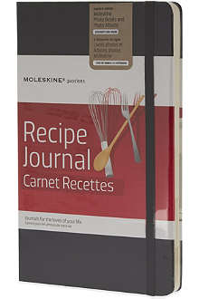 MOLESKINE Passions collection A5 recipe journal
