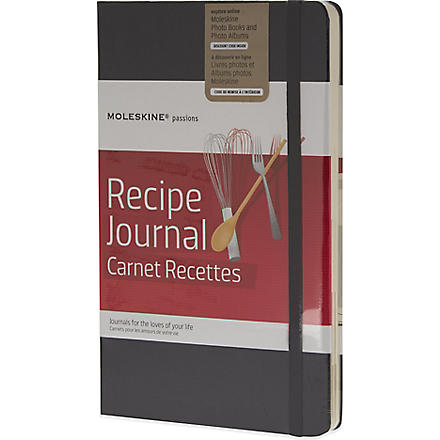 MOLESKINE Passions collection A5 recipe journal (Black