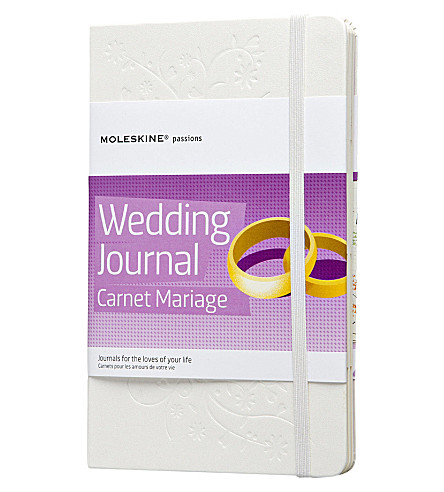 MOLESKINE Wedding journal