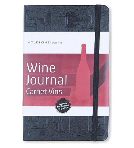 MOLESKINE 激情收藏 A5 葡萄酒杂志 (黑色