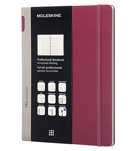 MOLESKINE Professional extra large notebook