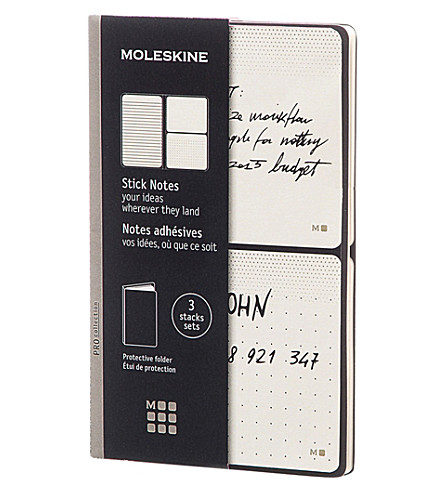 MOLESKINE Stick notes set