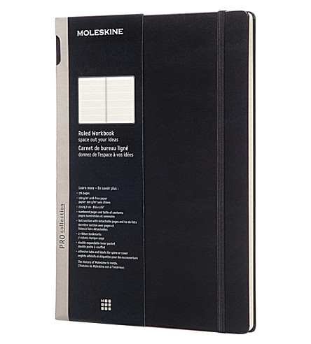 MOLESKINE Professional A4 ruled workbook