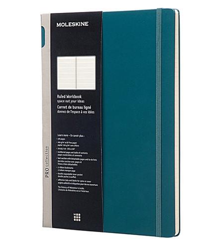 MOLESKINE Professional A4 ruled workbook