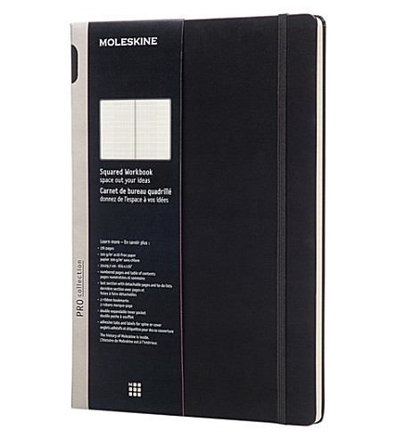 MOLESKINE Professional A4 squared workbook