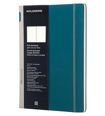 MOLESKINE Professional A4 plain workbook