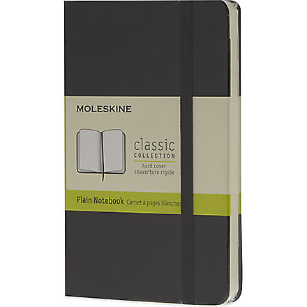 MOLESKINE Small plain notebook (Black