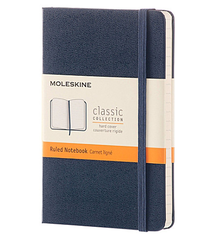 MOLESKINE Harcover ruled pocket notebook
