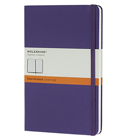 MOLESKINE Large Ruled brilliant violet notebook