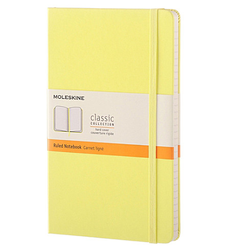 MOLESKINE Hardcover ruled large notebook