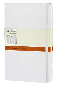 MOLESKINE Large Ruled white notebook