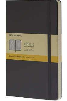 MOLESKINE Large squared notebook