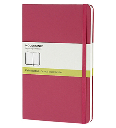 MOLESKINE Large Plain magenta notebook