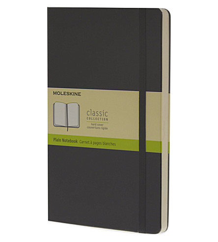 MOLESKINE Large plain notebook (Black
