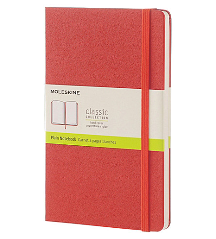 MOLESKINE Hardcover plain large notebook