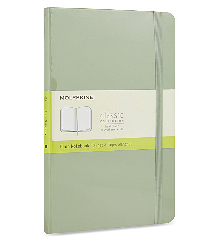 MOLESKINE Hardcover large plain notebook