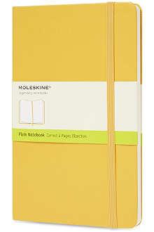 MOLESKINE Plain hardback notebook