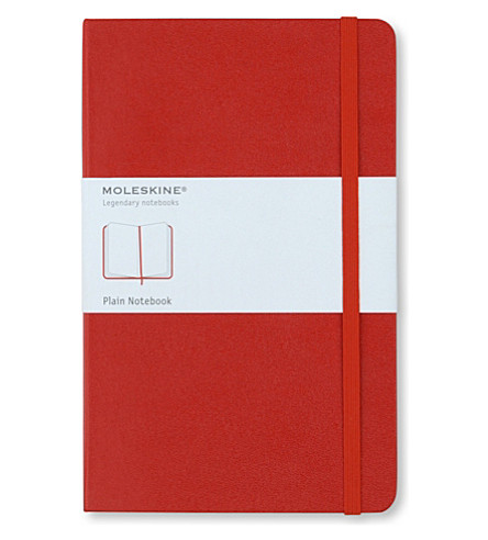 MOLESKINE Large plain notebook (Red