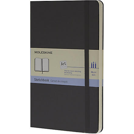 MOLESKINE Large sketchbook (Black