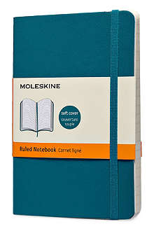 MOLESKINE Underwater blue ruled pocket notebook