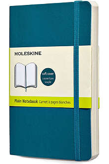 MOLESKINE Underwater blue plain pocket notebook