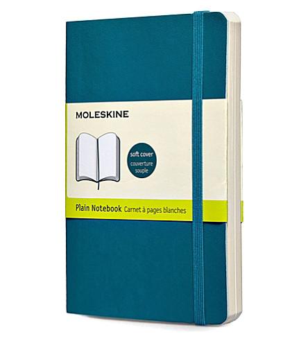 MOLESKINE 水下蓝色普通袖珍笔记本