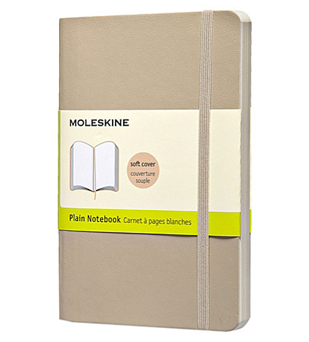 MOLESKINE Pocket Plain khaki beige notebook