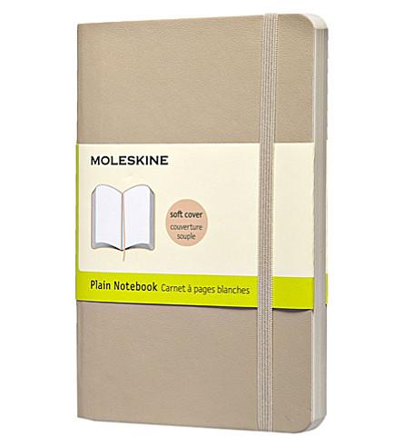 MOLESKINE Pocket Plain khaki beige notebook