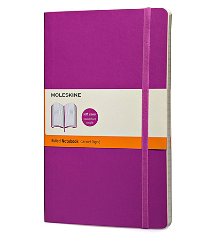 MOLESKINE Orchid purple large ruled notebook